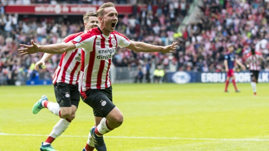 Luuk de Jong, PSV, Eredivisie 04152018