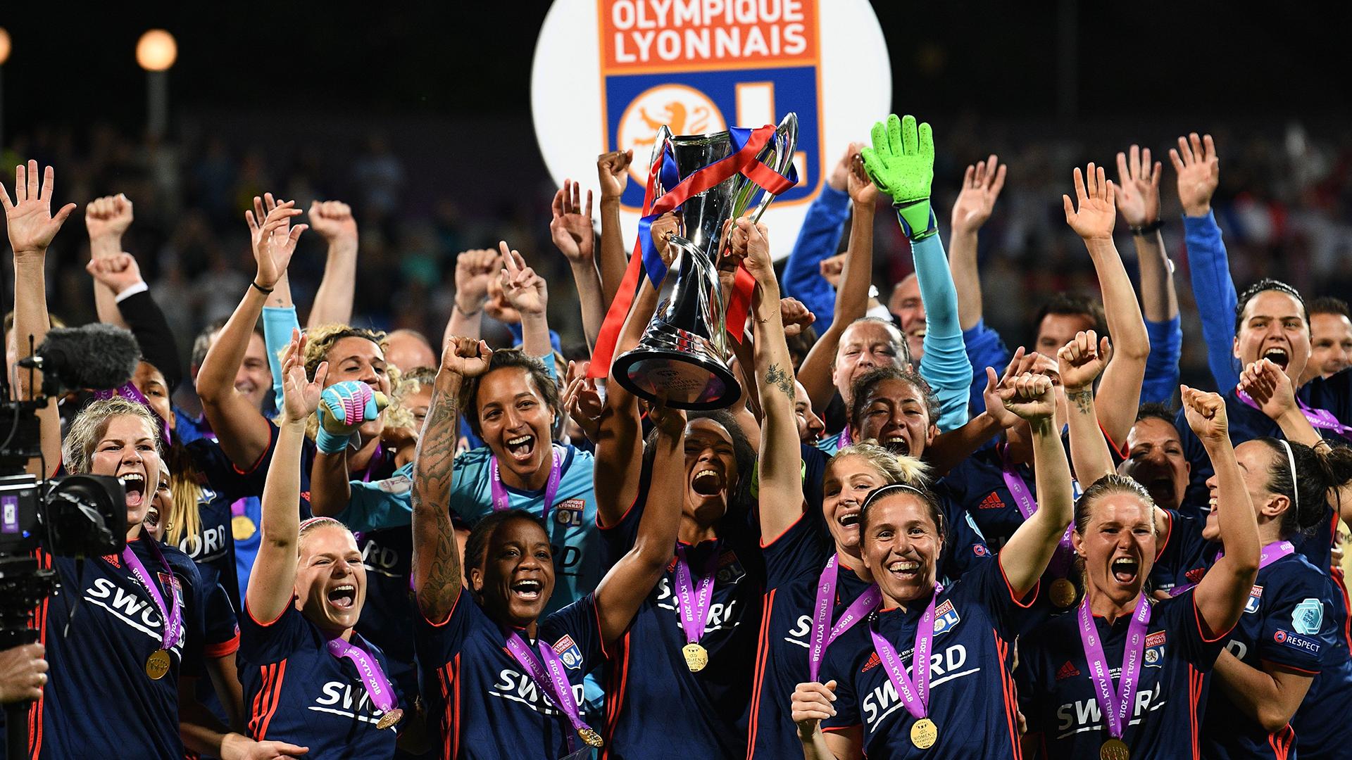 Wendie Renard Champions League Lyon 2019