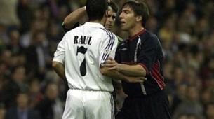 Raul Eduardo Berizzo Real Madrid Celta Vigo La Liga 21102001