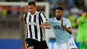Mandzukic Wallace Juventus Lazio Italian Supercup