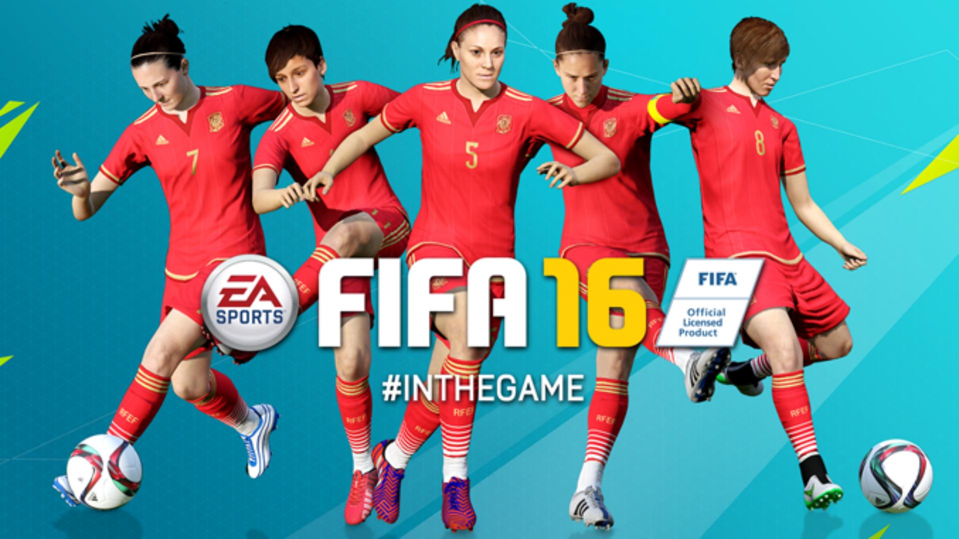 Juego FIFA 2016 Futbol Femenino