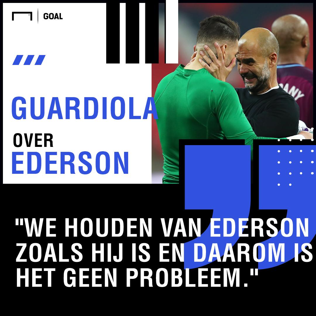 GFX Ederson, Manchester City