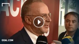 GFX Karl-Heinz Rummenigge FC Bayern
