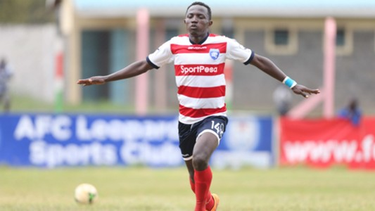 Alexis Kitenge of AFC Leopards v Vihiga