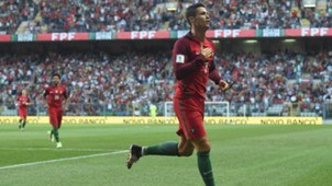cristiano ronaldo portugal wm qualifikation 083117