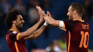 Mohamed Salah Francesco Totti Roma