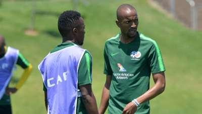 Tiyani Mabunda and Lebohang Maboe, Bafana Bafana