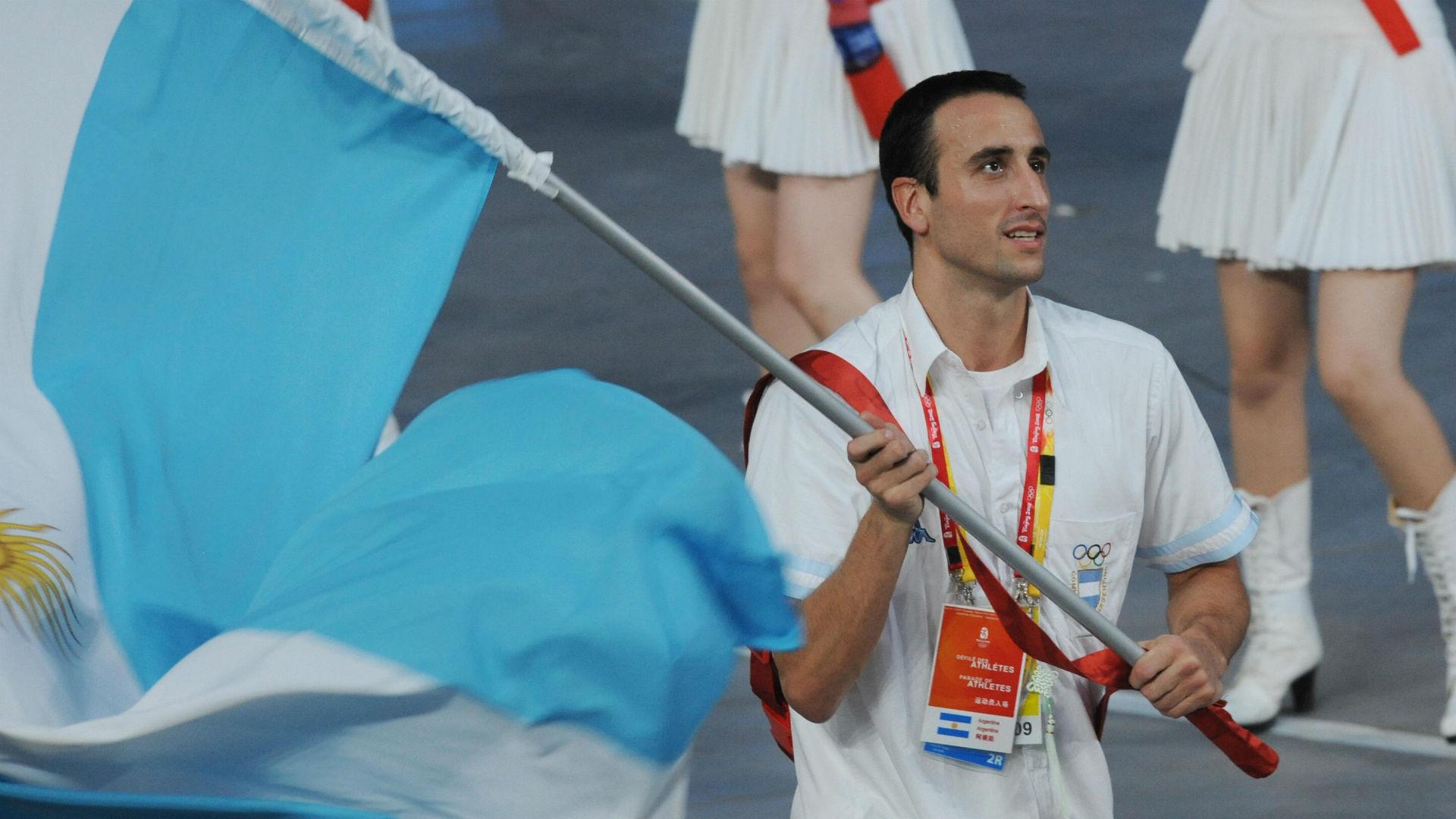 Emanuel Ginobili Argentina Beijing 2008 Olympics Games