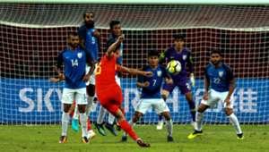 China India Football friendly
