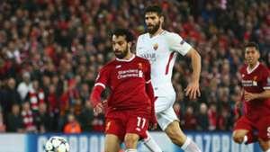 Mohamed Salah Liverpool Roma UEFA Champions League