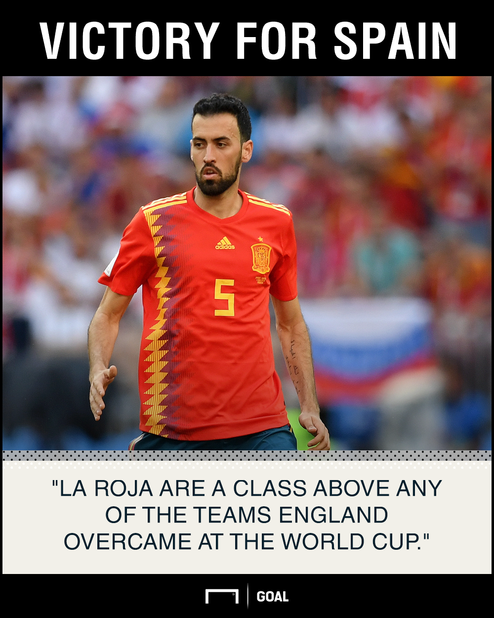 England Spain graphic