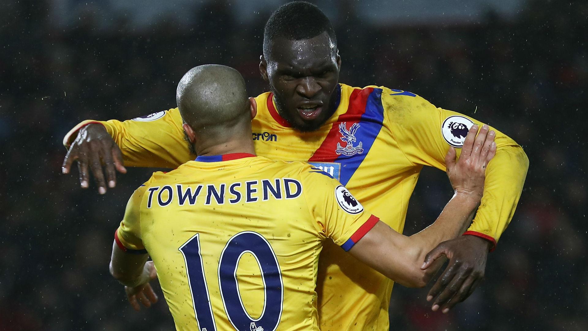 Christian Benteke Premier League Bournemouth v Palace