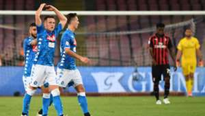 Piotr Zielinski Napoli Milan Serie A