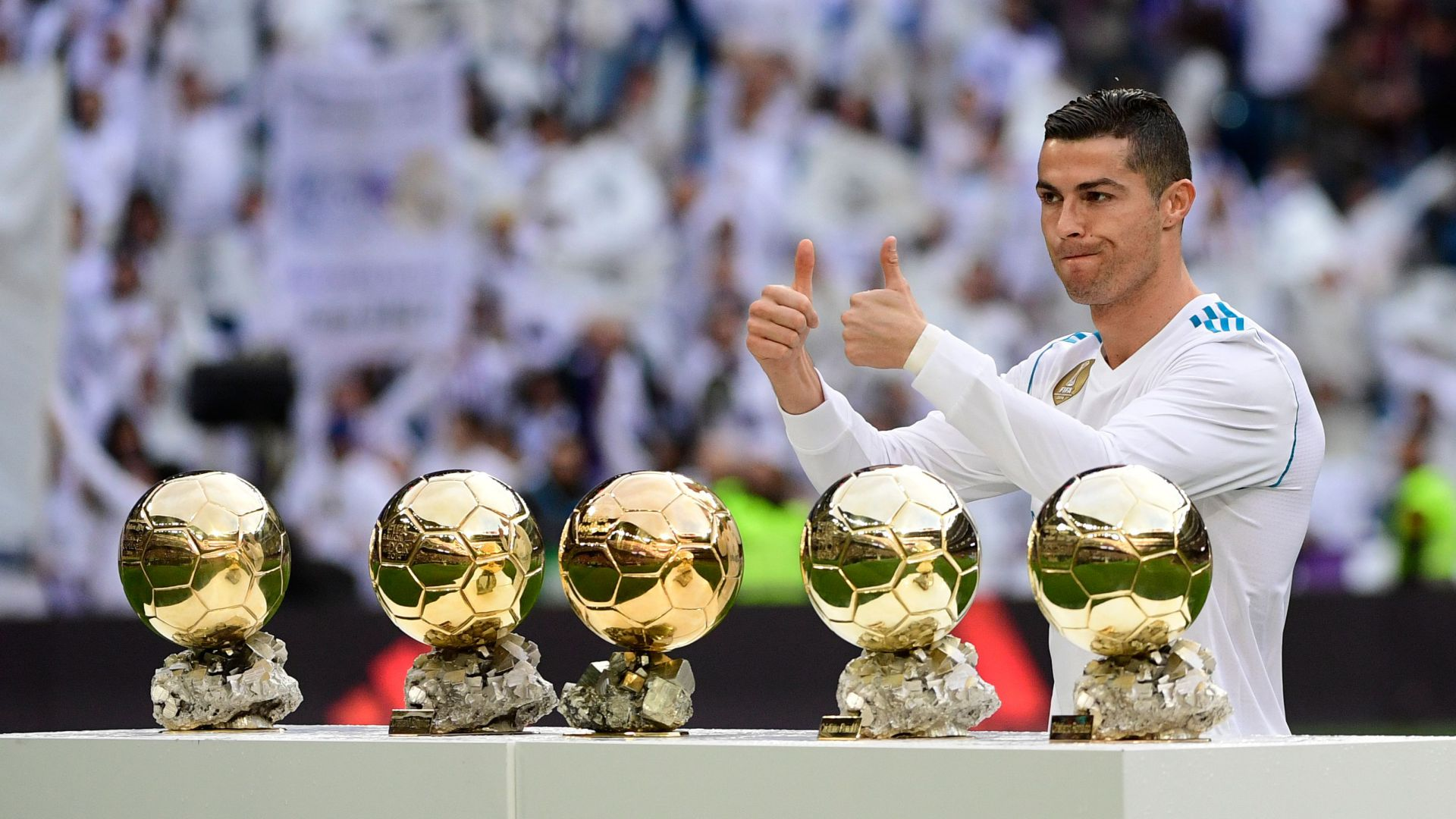 Cristiano Ronaldo Golden Ball