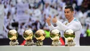 Cristiano Ronaldo, golden ball