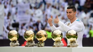 Cristiano Ronaldo, golden ball