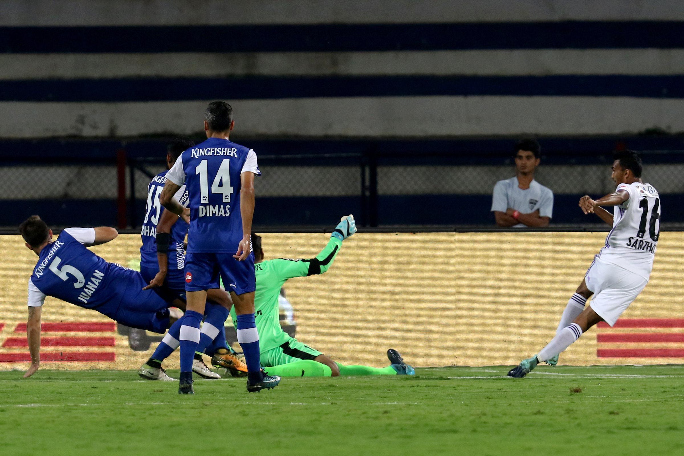 Sarthak Golui Bengaluru FC FC Pune City ISL