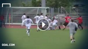 GFX Buchbach Regionalliga Keeper Goal