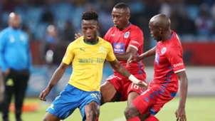 Mamelodi Sundowns v SuperSport United, April 2019 Phakamani Mahlambi