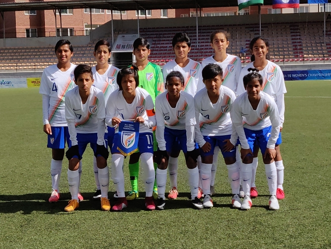 India U-16 girls Women's AFC