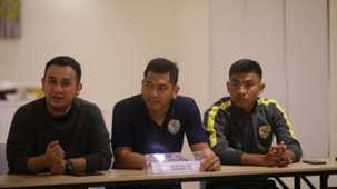 Jumpa pers Bogor FC vs Persija Jakarta