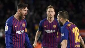 Messi, Alba, Rakitic