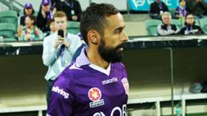 Diego Castro Perth Glory v Brisbane Roar A-League 08042017