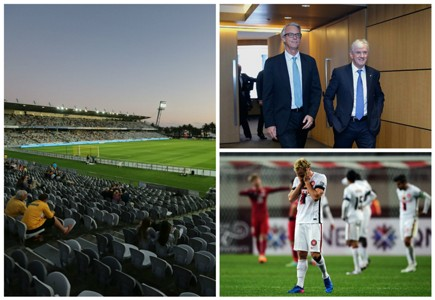 David Gallop Steven Lowy FFA A-League AFC Champions League