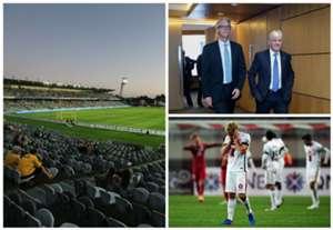 David Gallop Steven Lowy FFA A-League AFC Champions League