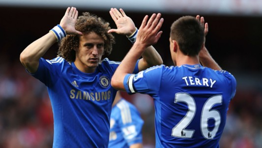 David Luiz John Terry Chelsea