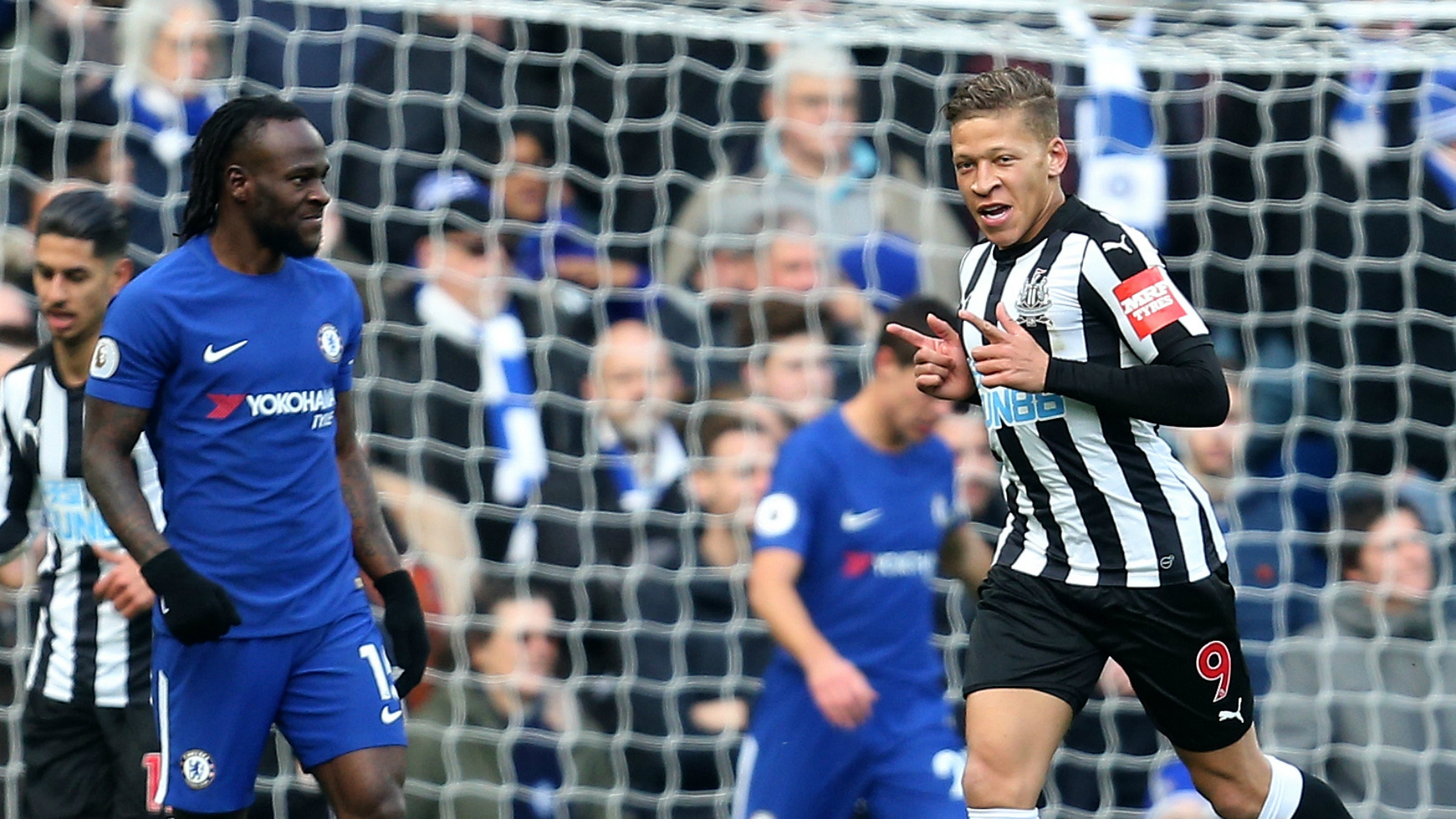 Chelsea - Newcastle: Dwight Gayle