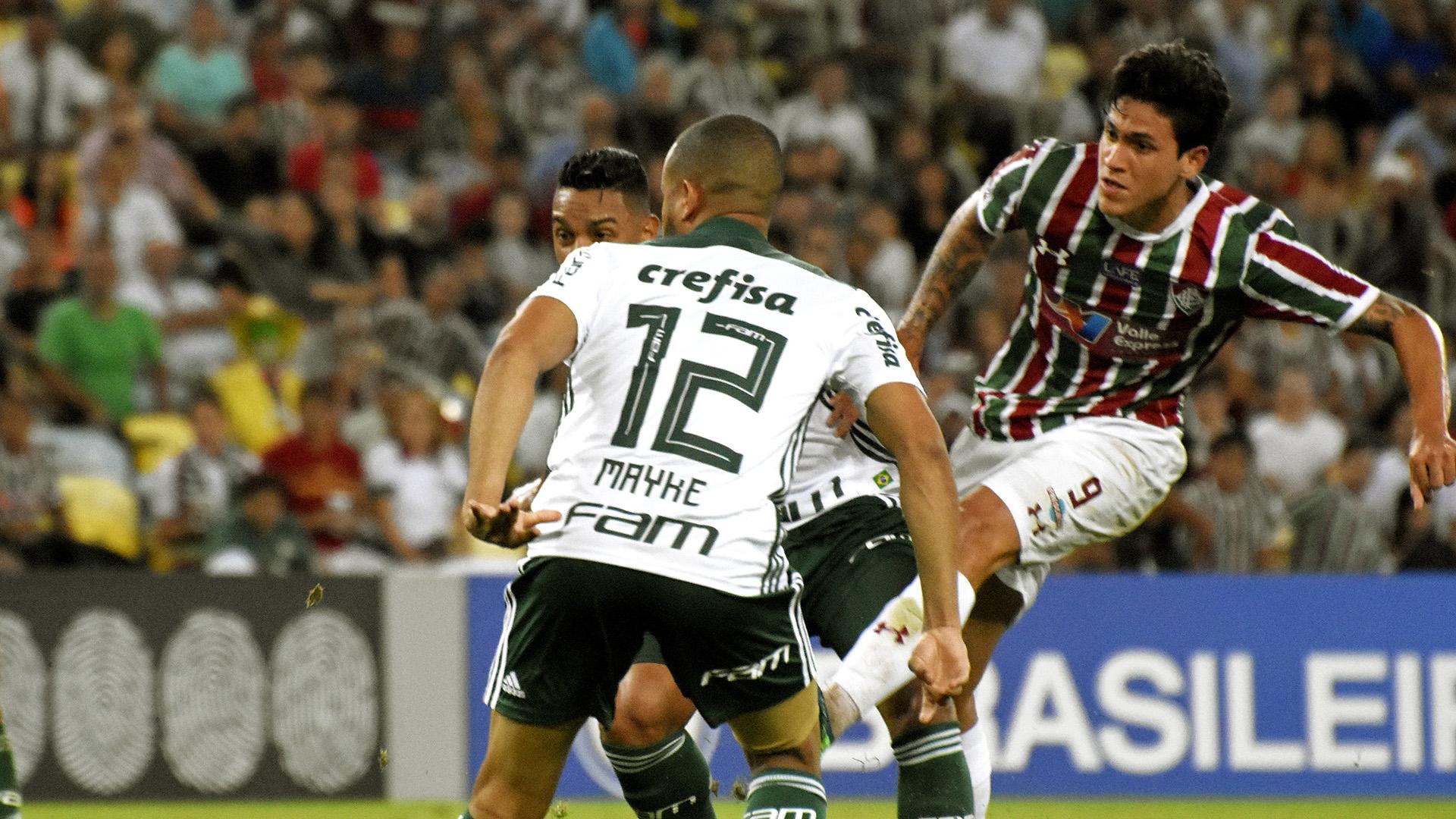 Pedro Mayke Fluminense Palmeiras Brasileirao Serie A 25072018