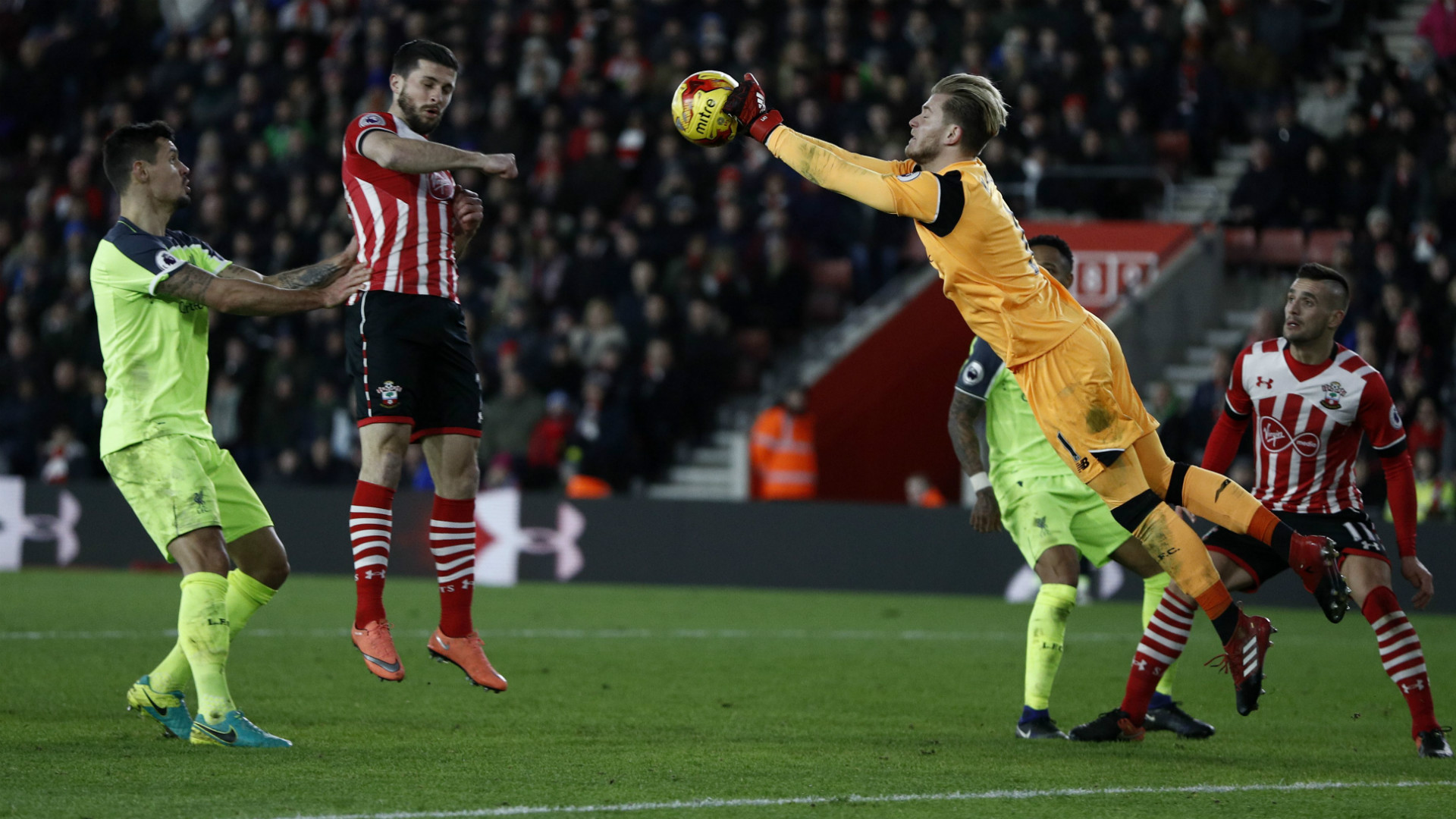 HD Loris Karius Liverpool Southampton
