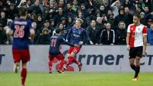 Kasper Dolberg, Feyenoord - Ajax, Eredivisie 10222017