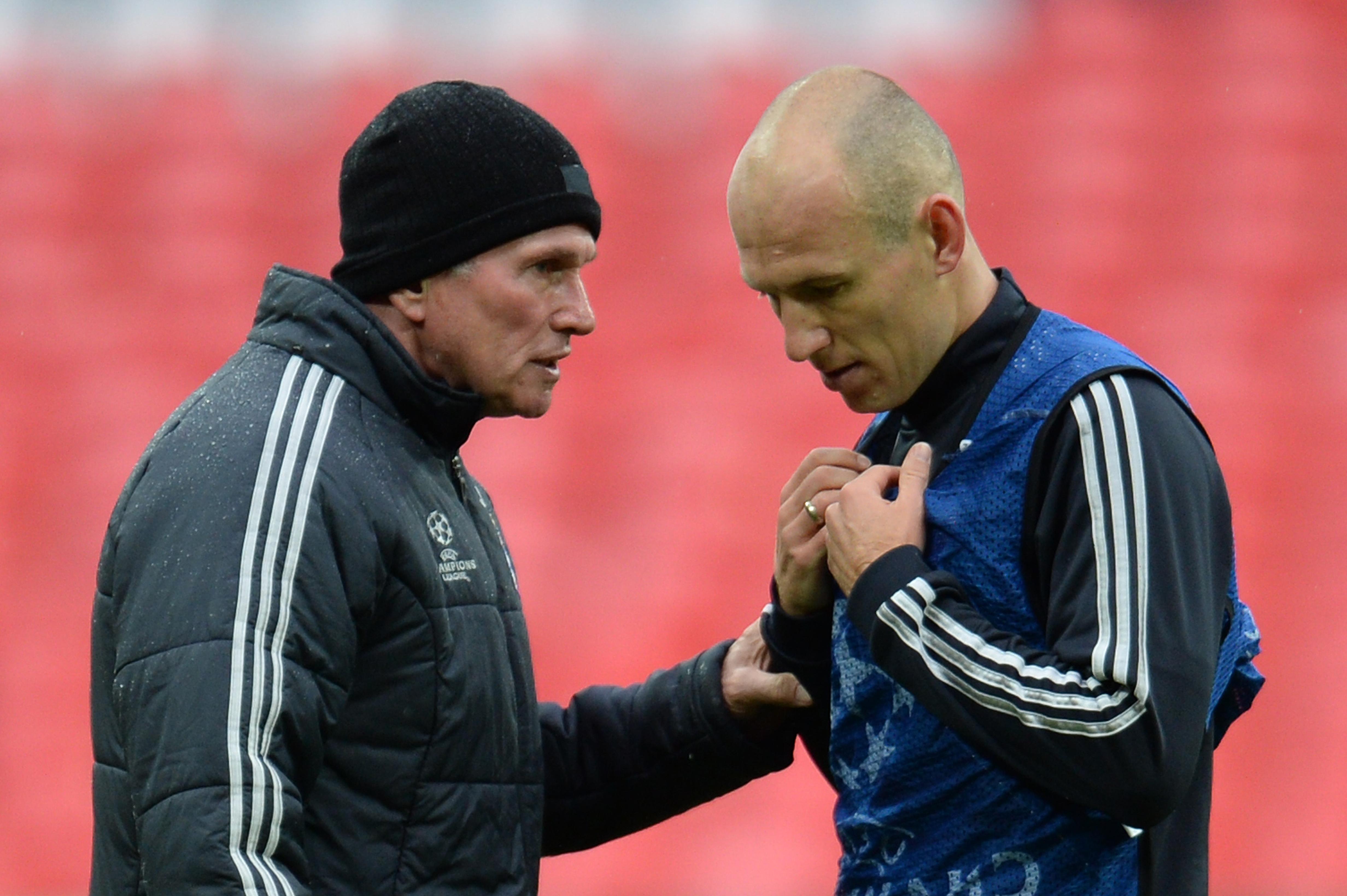 Arjen Robben Jupp Heynckes
