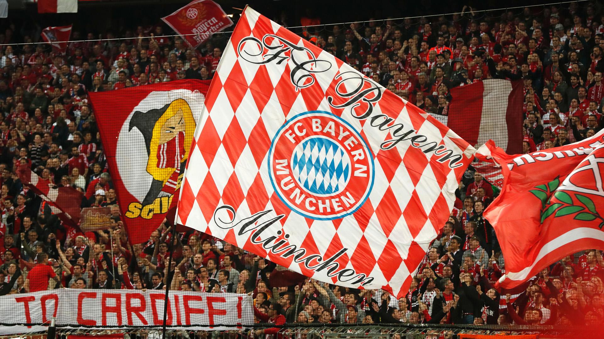 bayern münchen fans champions league 041217
