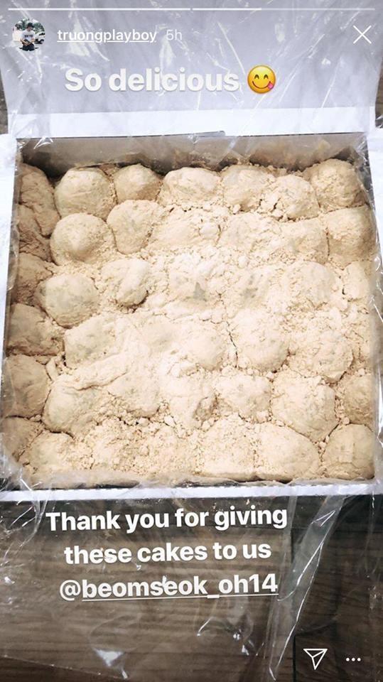 Xuân Trường bánh gạo dẻo