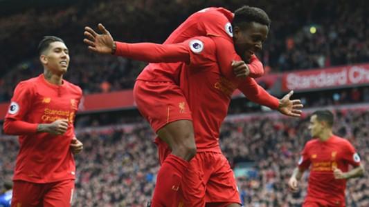 HD Liverpool Divock Origi celebrate