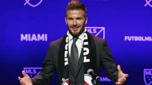 David Beckham MLS Miami 01292018
