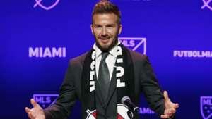 David Beckham MLS Miami 01292018