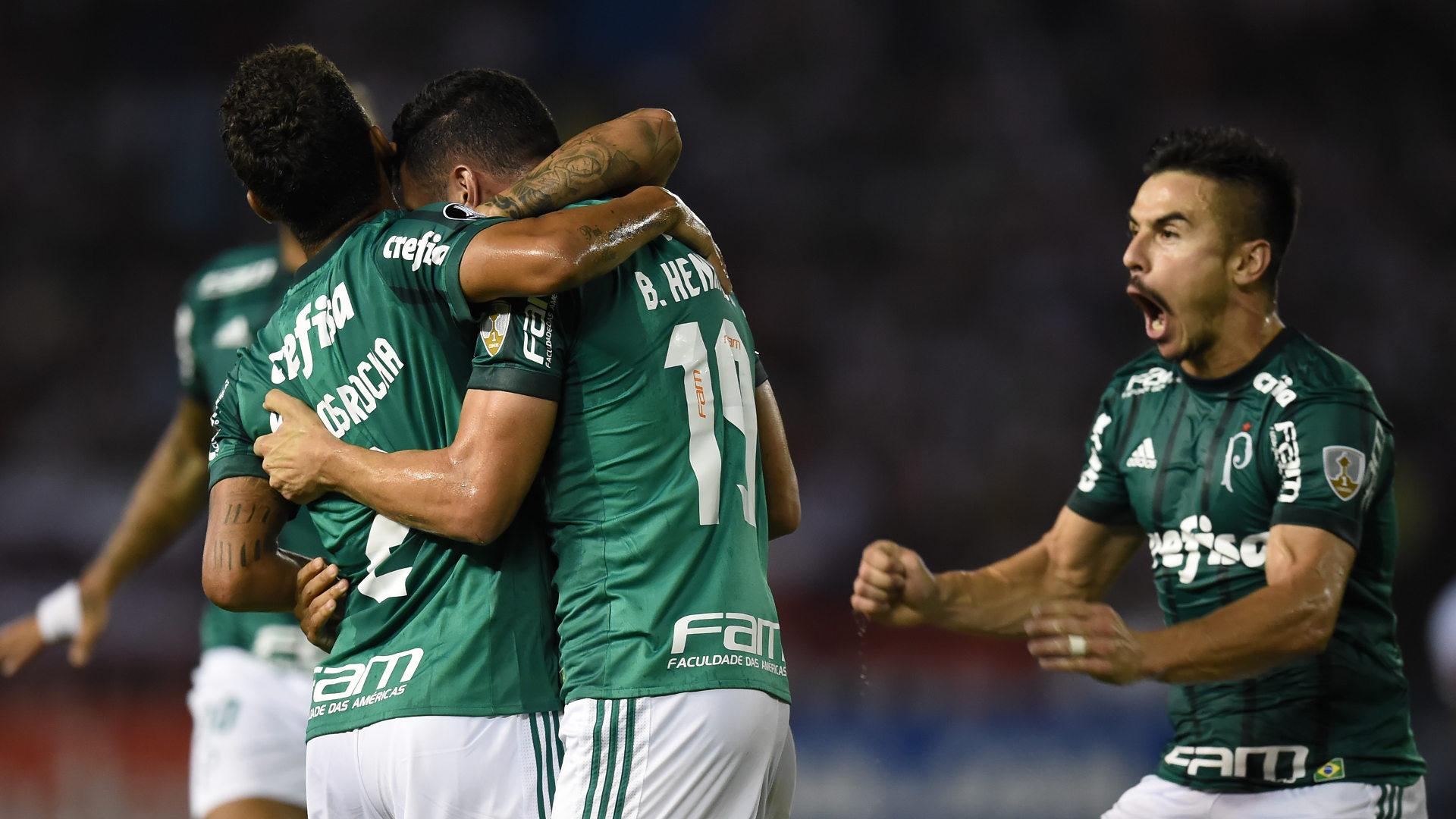 Willian Bigode Junior Palmeiras Copa Libertadores 01032018