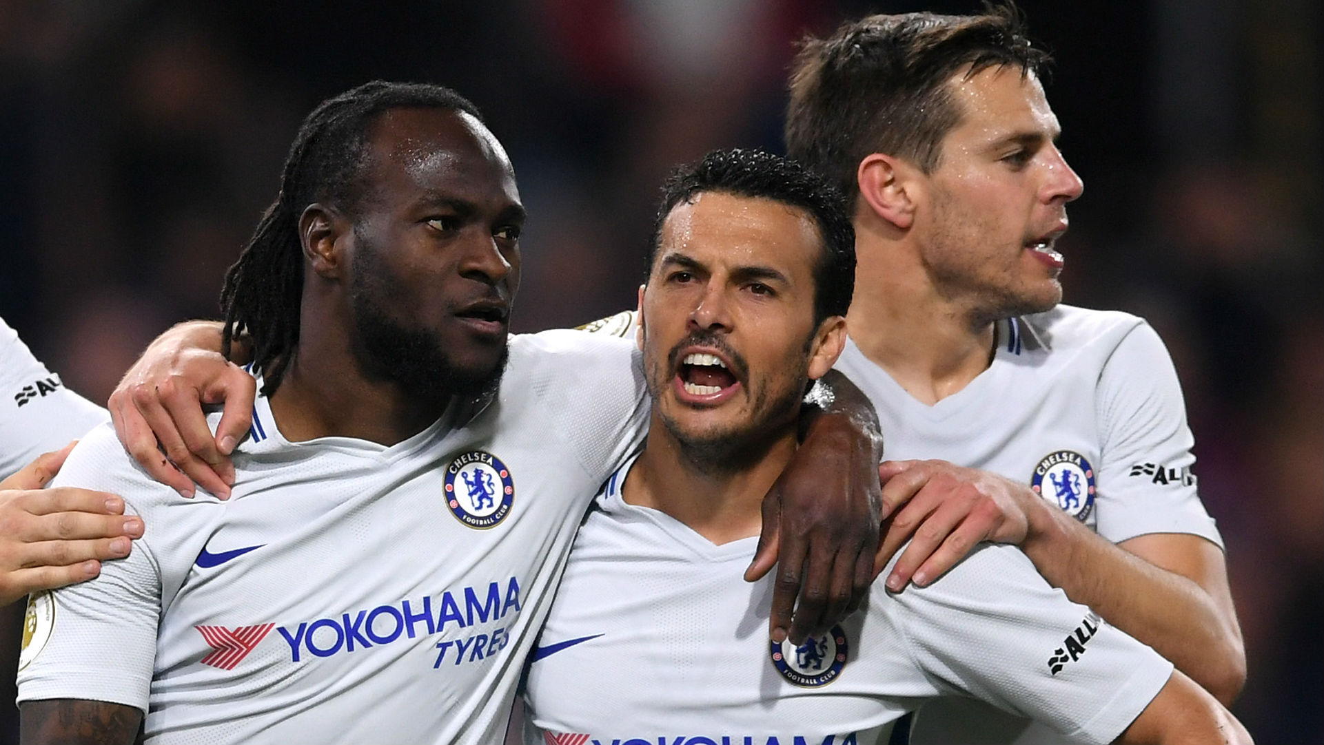 Victor Was The Star Man Conte Heaps Praise On Chelsea Hero Moses Goal Com