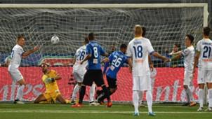 Moutir Chajia goal Novara Frosinone Serie B
