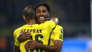Pierre-Emerick Aubameyang Omer Toprak Borussia Dortmund Bundesliga