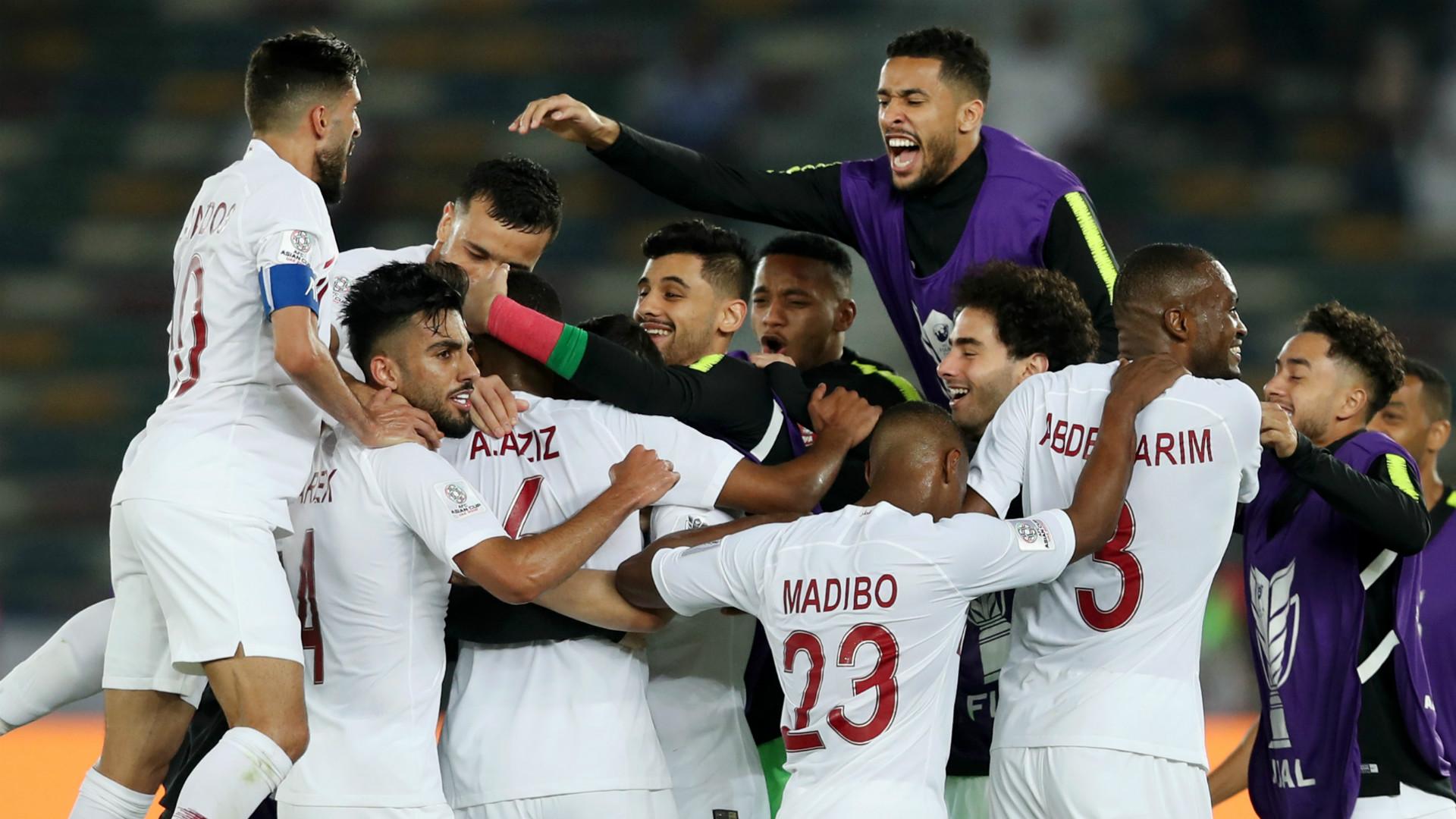 Qatar celebrate 2019