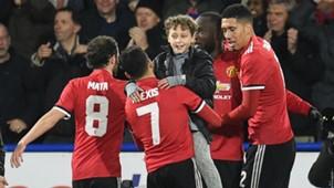 Alexis Sanchez, Huddersfield v Man Utd, FA Cup, 17/18
