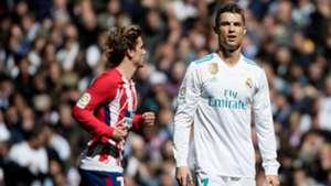 Antoine Griezmann Cristiano Ronaldo Real Madrid Atletico LaLiga