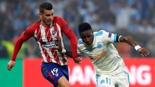 Lucas Hernandez Bouna Sarr Atletico de Madrid Olympique Marseille OM UEL 16052018