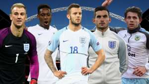 England squad surprise call-ups