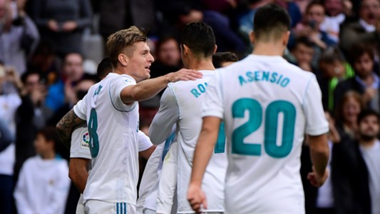 Toni Kroos Real Madrid Sevilla LaLiga 09122017